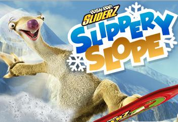 перейти к shockwave игре Slippery Slope